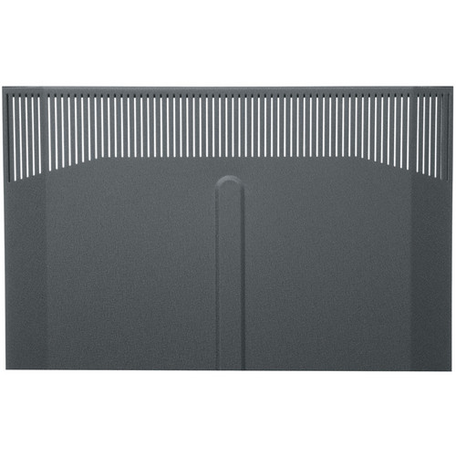 Middle Atlantic BFD-19 Solid Front Door (Black Finish)
