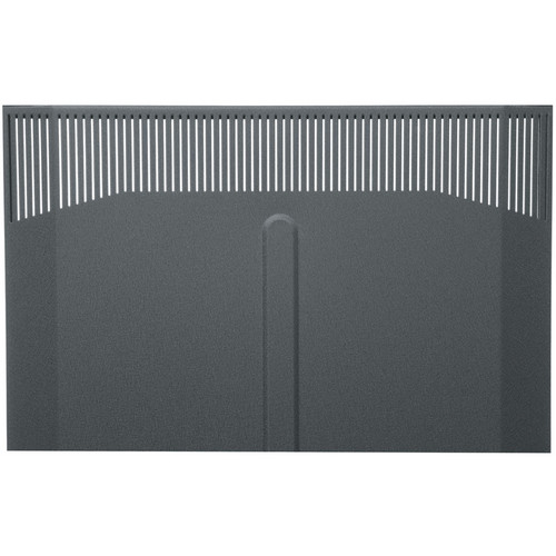 Middle Atlantic BFD-25 Solid Front Door (Black Finish)