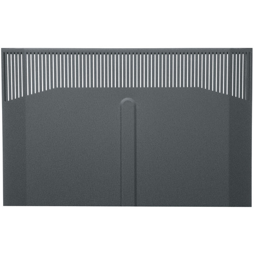 Middle Atlantic BFD-38 Solid Front Door (Black Finish)