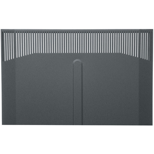 Middle Atlantic BFD-41 Solid Front Door (Black Finish)