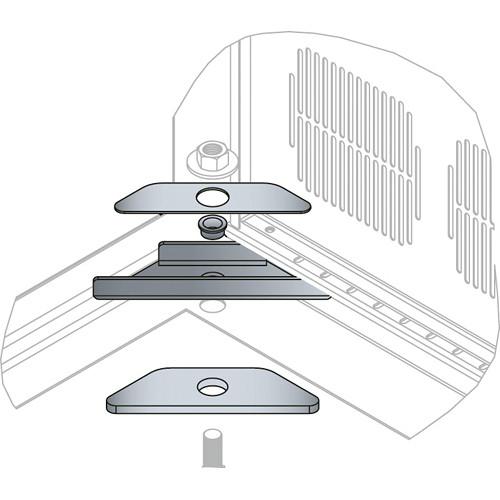 Middle Atlantic BGR-ISO-Z4 Seismic Floor Anchor Kit