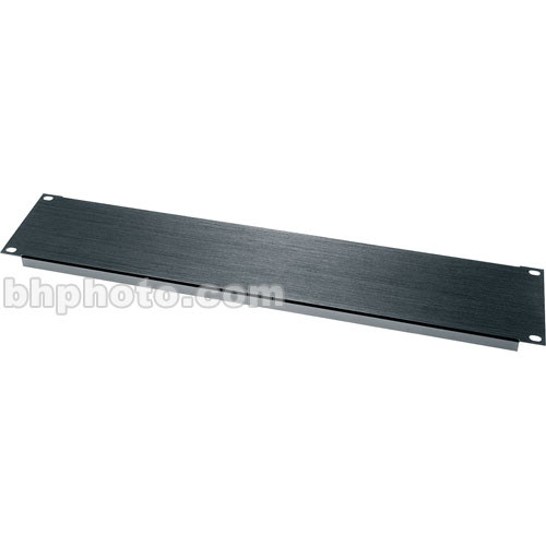 Middle Atlantic BL Series Flanged Blank Panel BL4 (Black)