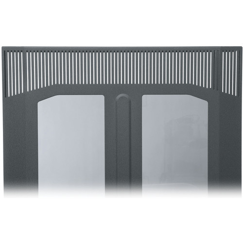 Middle Atlantic BPFD-25 Plexiglass Front Door (Black Finish)
