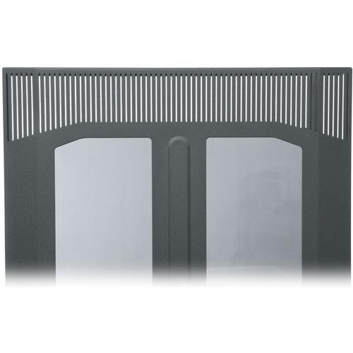 Middle Atlantic BPFD-25 Plexiglass Front Door (Black Finish)