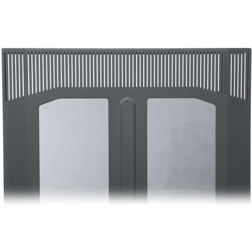 Middle Atlantic BPFD-41 Plexiglass Front Door (Black Finish)