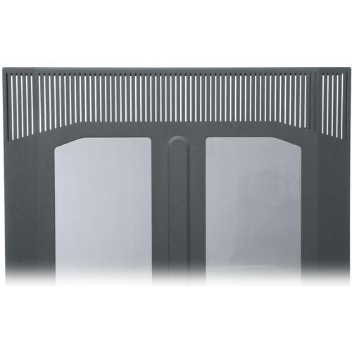 Middle Atlantic BPFD-45 Plexiglass Front Door (Black Finish)