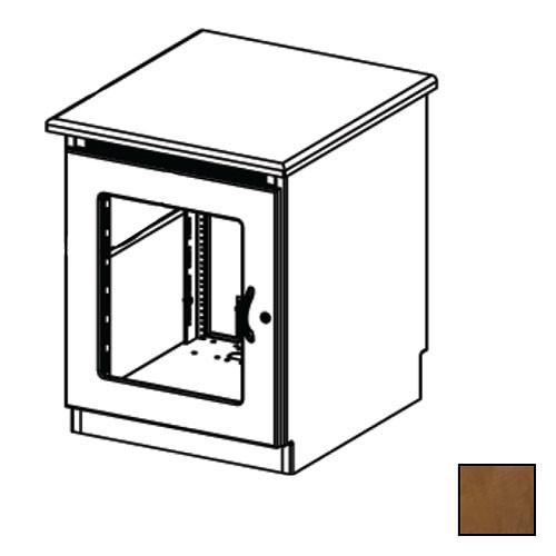 Middle Atlantic Credenza Rack Finishing Kit (Contemporary, 1 Bay, Smoked Plexiglass Doors)