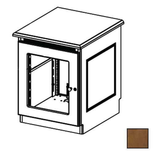 Middle Atlantic Credenza Rack Finishing Kit (Traditional, 1 Bay, Smoked Plexiglass Doors)