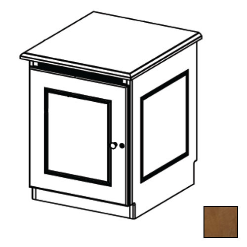 Middle Atlantic Credenza Rack Finishing Kit (Traditional, 1 Bay, Solid Doors)