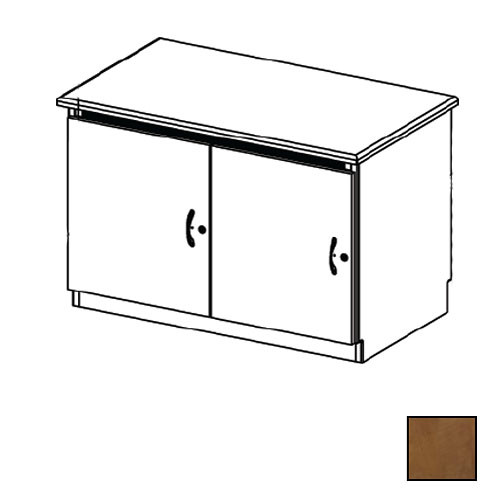 Middle Atlantic Credenza Rack Finishing Kit (Contemporary, 2 Bay, Solid Doors)