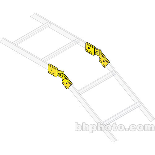 Middle Atlantic CLH-ADJT-6 Adjustable Ladder End Splice Hardware (6-pairs)