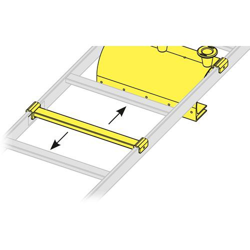"Middle Atlantic CLH-AR24 Adjustable Rung for 24"" Cable Ladder"