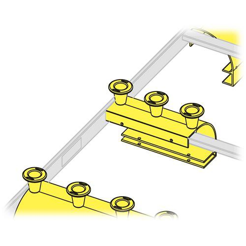 "Middle Atlantic CLH-ED5 Cable Ladder End Drop (5"", 1 Spool)"