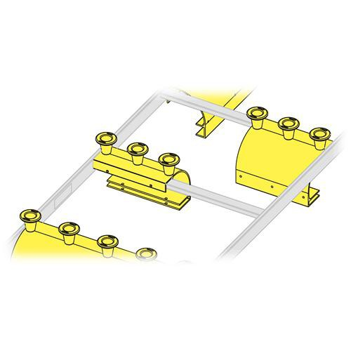 "Middle Atlantic CLH-ED8 Cable Ladder End Drop (8"", 3 Spools)"