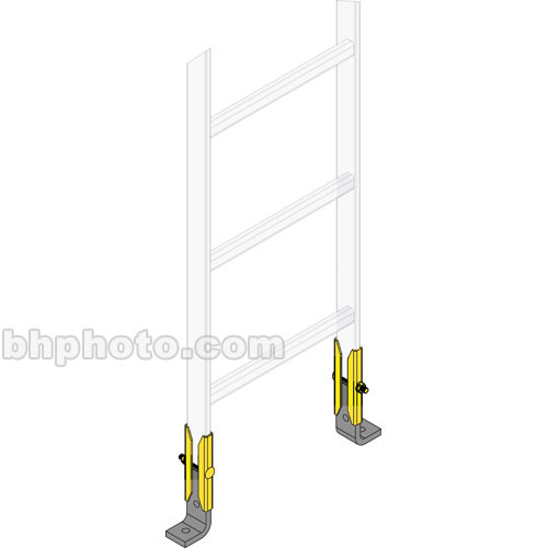 Middle Atlantic CLH-RES-6 Ladder End Support Hardware (6-Pairs)