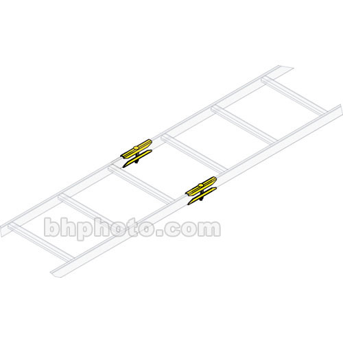 Middle Atlantic CLH-RSJ-6 Ladder End Splice Hardware (6-Pairs)