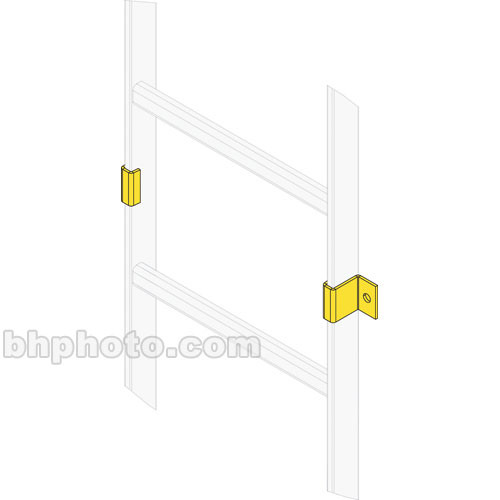 Middle Atlantic CLH-RWC-6 Ladder Wall Clamp (6-Pairs)