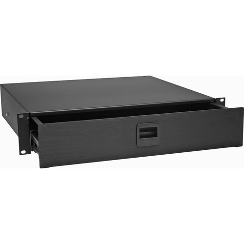 Middle Atlantic D2 2-Space Rack Drawer (Black)
