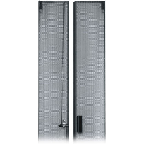 Middle Atlantic DCLVRD-44 Perforated Rear Split Door for 44U DRK Enclosure