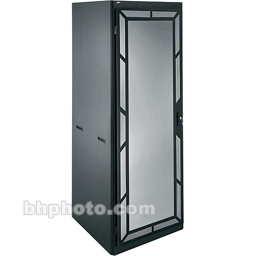 """Middle Atlantic DRK 44 Space, 30 x 77 x 24.25"""" Rack for 19"""" A/V Panel Equipment with Front Door"""