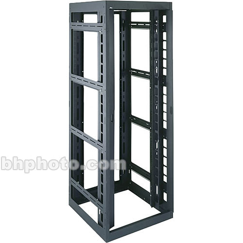 """Middle Atlantic DRK 44 Space, 30 x 77 x 24.25"""" Rack for 19"""" Panel Equipment without Rear Door"""