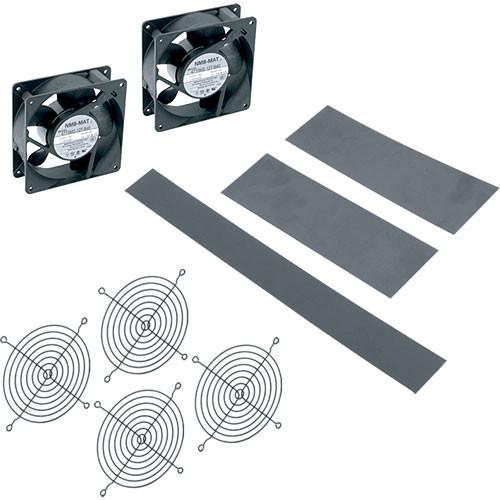 """Middle Atlantic DWR-FK17 Rack Fan Kit for DWR 17"""" Deep Rack (2 Fans)"""
