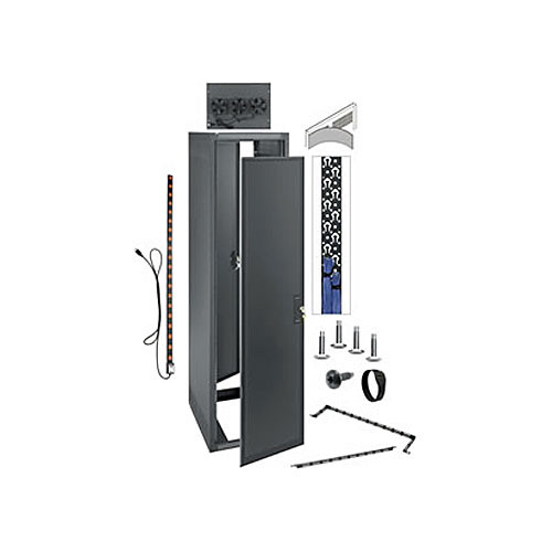 "Middle Atlantic ERK-4425-AV ERK 19"" Audio-Video Stand-Alone Enclosure"