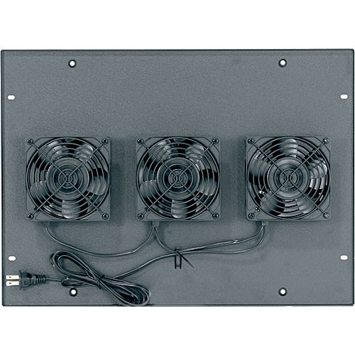"Middle Atlantic ERK-4FT-285CFM 285 CFM Integrated Fan Top with (4) 4-1/2"" Fans"