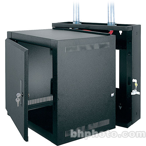 Middle Atlantic Steel Wall Mount Rack (Black)