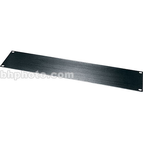 Middle Atlantic HBL Series Flat Blank Panel HBL4 (Black)
