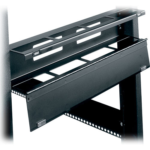 Middle Atlantic HHCM-1 1U Hinged Horizontal Cable Manager