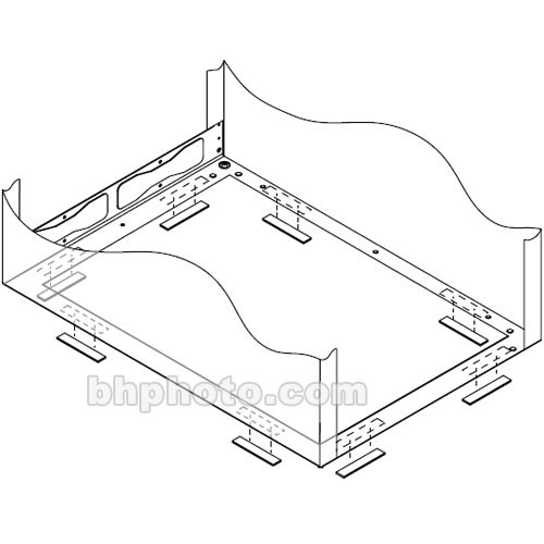 Middle Atlantic ISO-1 Rack Isolation Kit