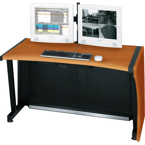 "Middle Atlantic 64"" LCD Monitoring & Command Desk (Honey Maple)"