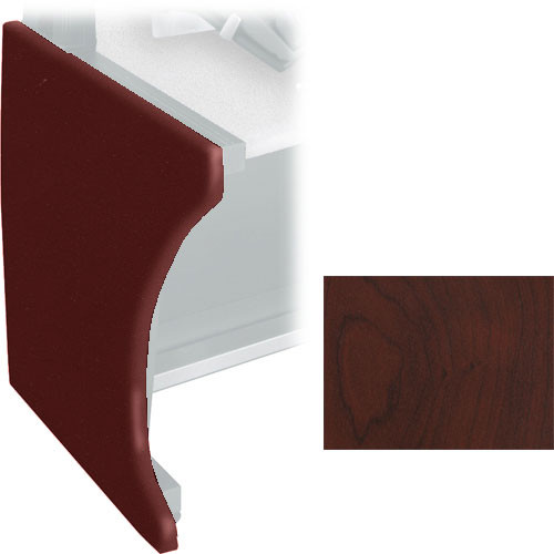 Middle Atlantic Pair of Full Height Side Panels for LD Series LCD Monitoring/Command Desk (Dark Cherry)