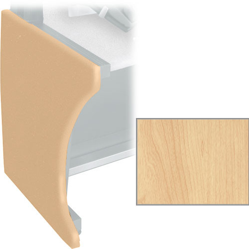 Middle Atlantic Pair of Full Height Side Panels for LD Series LCD Monitoring/Command Desk (Honey Maple)