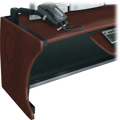 Middle Atlantic Pair of Standard Side Panels for LD Series LCD Monitoring/Command Desk (Dark Cherry)