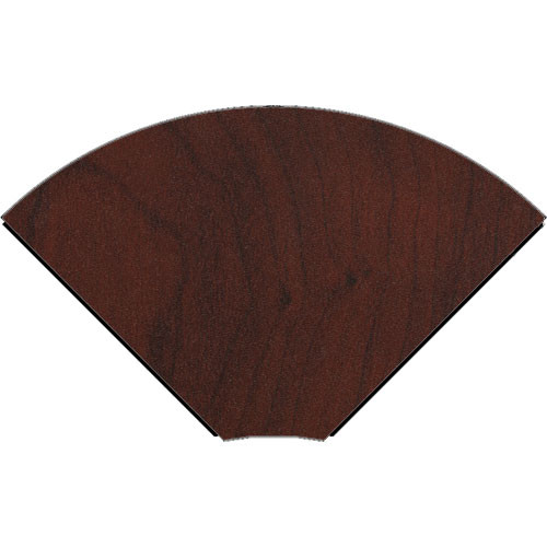 Middle Atlantic 90° Connecting Wedge for LD Series LCD Monitoring/Command Desk (Dark Cherry)