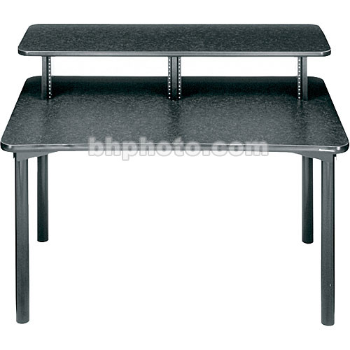 "Middle Atlantic 48""W Straight Desk w/Overbridge  MDV-DSK (Graphite)"