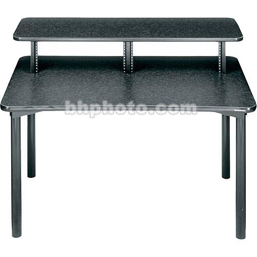"Middle Atlantic 48""W Straight Desk w/Overbridge  MDV-DSK (Graphite)"