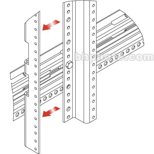 Middle Atlantic MVZRA44 44U Z-Rail Adapter Kit (2 pcs.) for/ MRK/VRK Racks