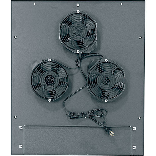 "Middle Atlantic MW-6FT-660CFM 660 CFM Integrated Fan Top with (3) 6"" Fans"