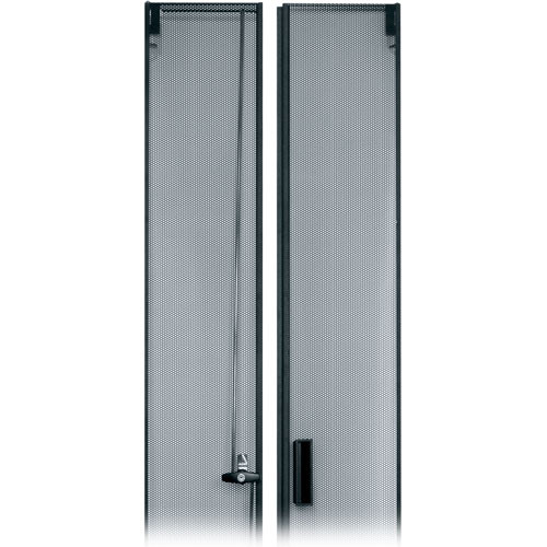 Middle Atlantic MW-CLVRD-44 Fully-Vented Split Rear 44-Space Rack Door