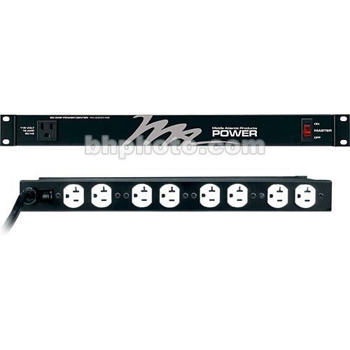 Middle Atlantic PD-920R-NS 115V 20-Amp 9-Outlet Vertical Power Strip