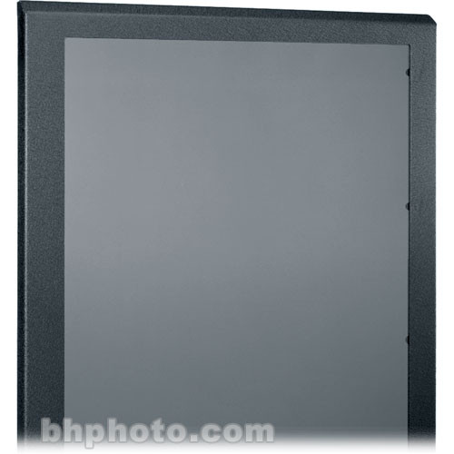Middle Atlantic PFD-44 Plexi Front Door (Black)