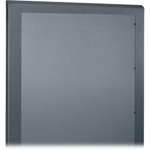 Middle Atlantic PFD-45 Universal Front Rack Door, Plexiglass, 45U, (Black)