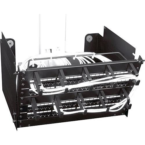 Middle Atlantic PPM-6-16OB Pivoting Panel Mount - 6 Space Wall Mount Rack