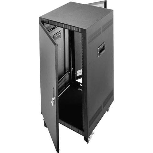"Middle Atlantic PTRK-2726 27U 26"" Deep Portable Rack"