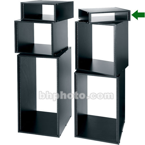 Middle Atlantic RK2 KD Rack Black Laminate