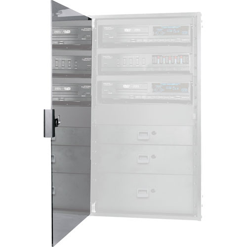 Middle Atlantic RK-GD16 Smoked Tempered-Glass Door for RK- and BRK-Series Racks (for 16 RU Models)