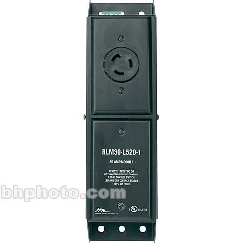 Middle Atlantic RLM30-L520-1 30A Stand-Alone Power Module with NEMA L520 Plug